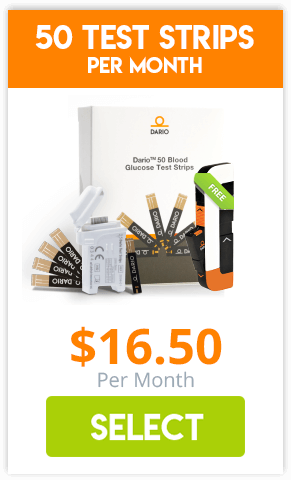 50 Test Strips Per Month